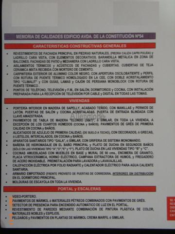 OBRA NUEVA EN AVENIDA CONSTITUCION - 73 M² - 3 DORMITORIOS - BAÑO - ASEO - TRASTERO photo 0