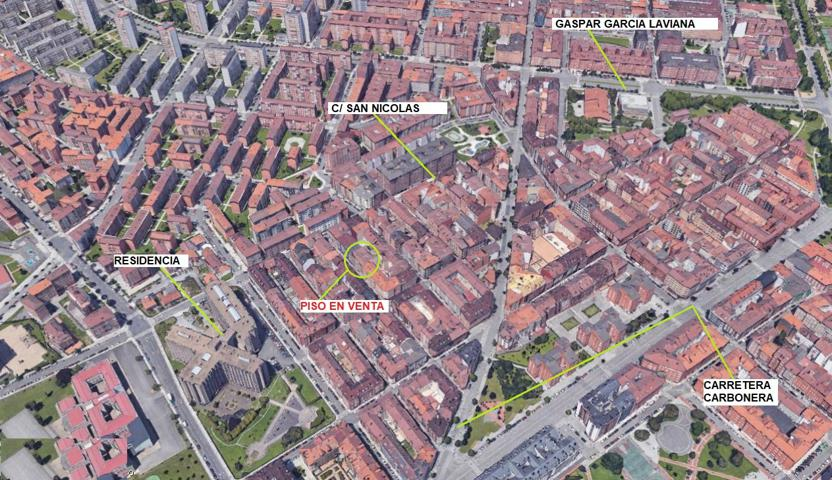 Piso En venta en Calle San Matías, Gijón photo 0