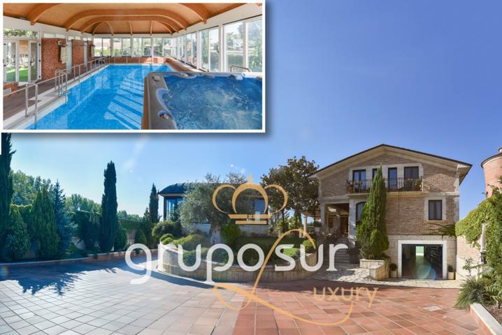 Magnífico chalet de lujo con piscina climatizada construido en el año 2004 en Grijota, Palencia. photo 0