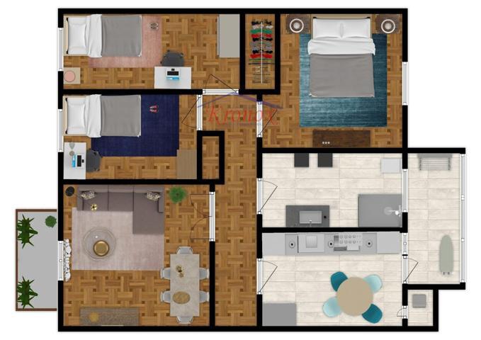 Piso a reformar, de tres dormitorios, baño, cocina y salón independiente 84 metros, construidos 70 útiles. INMEJORABLE SITUACIÓN. photo 0