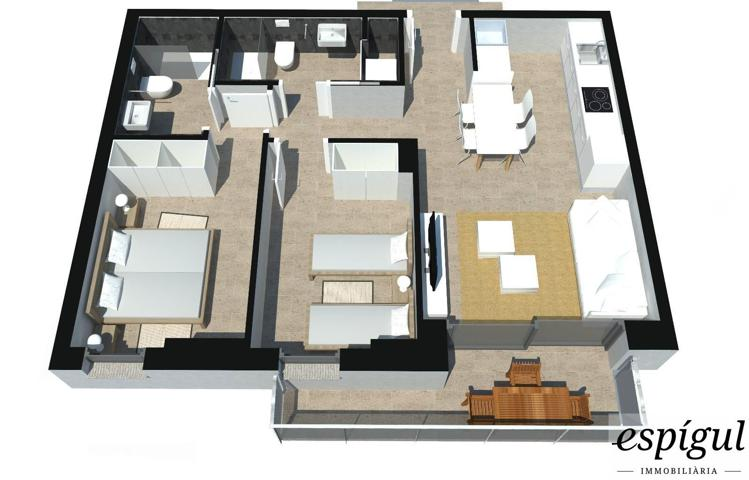 Excelente piso de obra nueva para inversores...Situación inmejorable en la zona de Pericot-Montilivi (cerca del centro y rodeado de facultades de la universidad) con altas calidades en un edificio de obra nueva energéticamente eficiente... photo 0