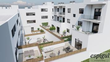 Pisos de obra nueva en construcción en SANT GREGORI , situados en la calle Baix esquina cal Germa, . Está ubicado en el centro del pueblo es un edificio con acabados de calidad y una buena eficiencia energética. photo 0