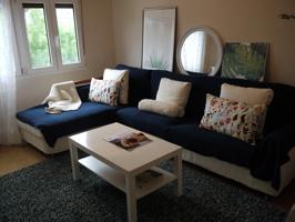 Bonito apartamento en LEMOA de 50m2. Consta de recibidor, 2 habs, salón, cocina equipada y baño. Completamente amueblado. Ventanas de PVC , puertas sapellly, recién pintado, calefacción, totalmente exterior y muy soleado. photo 0