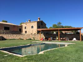 Masia muy acogedora con piscina en Aguilar de Segarra photo 0