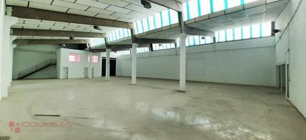 Oportunidad de alquiler de Nave completamente diáfana de 825 mts. en Polígono Industrial Conmar. photo 0