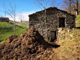 Cabaña en dos alturas que suman 82 m² en San Roque de Riomiera. Situada en la cabecera del río Miera, en un paraje singular caracterizado por la sucesión de praderías parceladas con muros y salpicadas de cabañas de piedra. Dispone de un terreno de 6500 m² photo 0