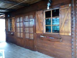 Casa Rústica de Madera, y Finca de 3.000 m2. photo 0