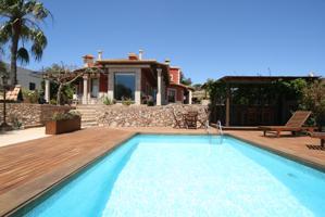 Estupenda villa de lujo con piscina en El Time photo 0