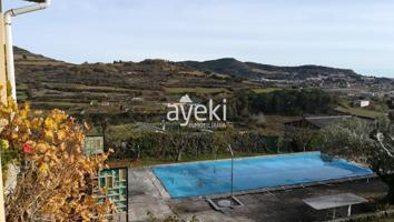 Chalet Independiente en venta en Estella-Lizarra, con 177 m2, 3 habitaciones y 2 baños, Piscina, Amueblado y Calefacción si. photo 0